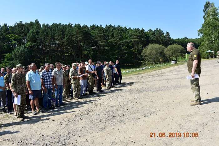 Вінницькі військові резервісти проходили навчальний збір