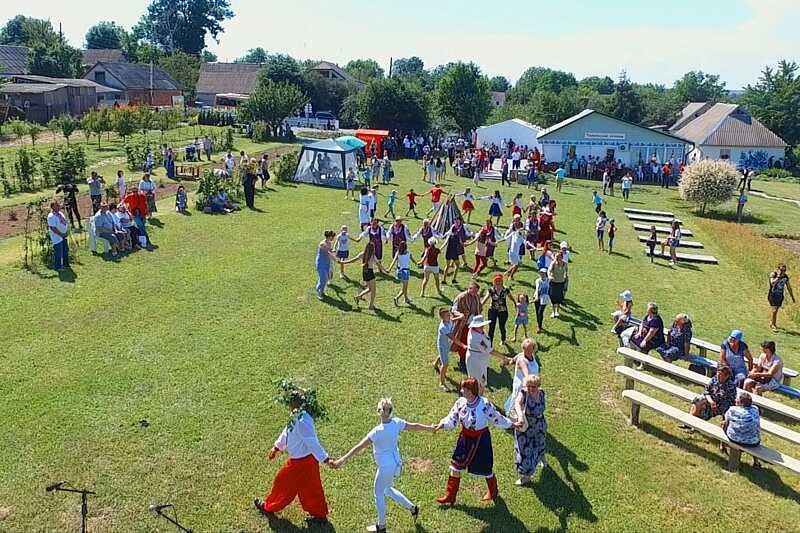 У селі на Вінниччині люди організували фестиваль зеленого туризму
