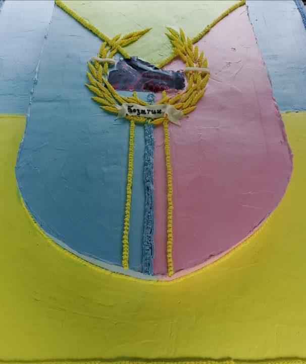 Патріотичний торт на 145-у річницю подарували Козятину