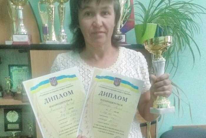 Наша землячка здобула «срібло» на Всеукраїнських іграх ветеранів спорту