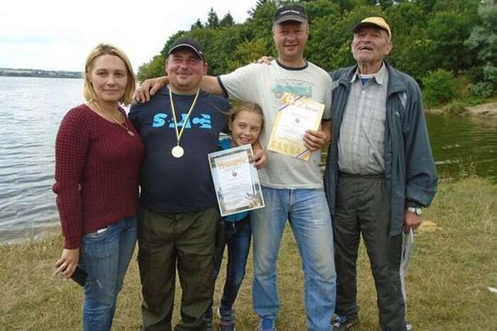 Змагання серед рибалок-аматоірв провели на Вінниччині