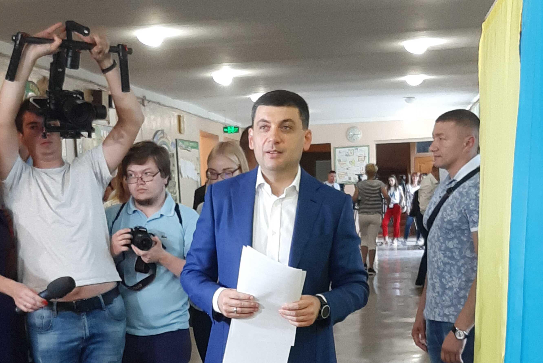 Партія Гройсмана стала другою на Вінниччині за кількість голосів виборців (відео)
