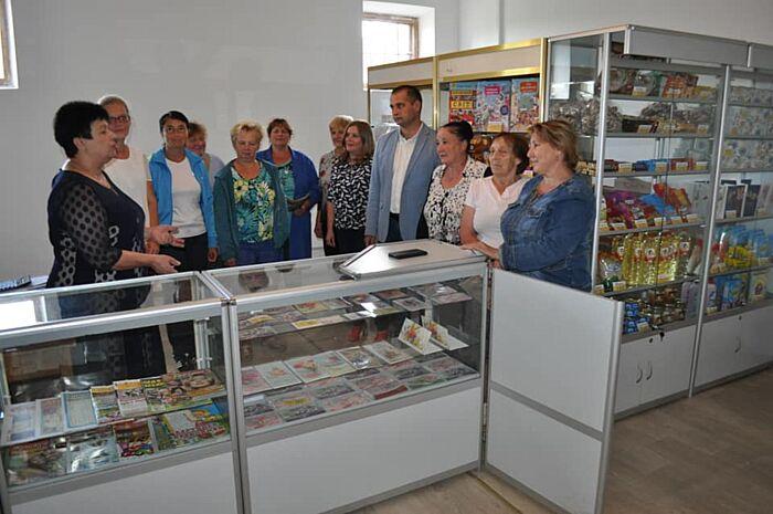 В селі на Вінниччині відремонтували оновлене поштове відділення