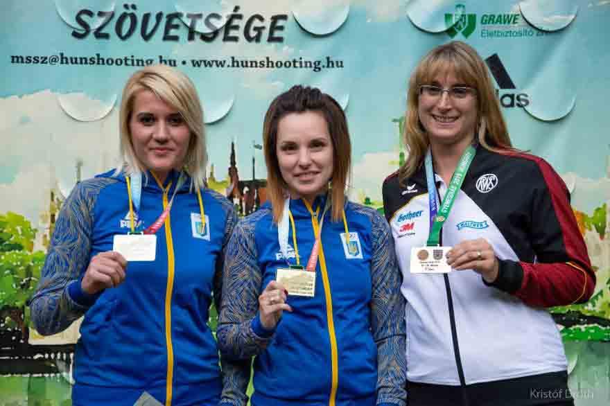 На 10 медалей «настріляли» вінницькі спортсмени в Угорщині