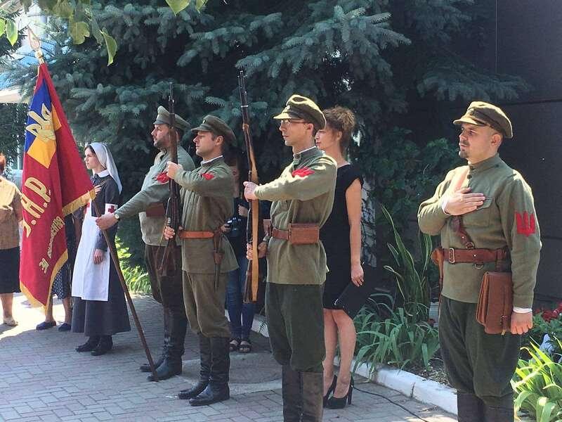 У Вапнярці відтворили розгром 54-го більшовицького полку Мішки Япончика, що носив ім'я Леніна (відео)