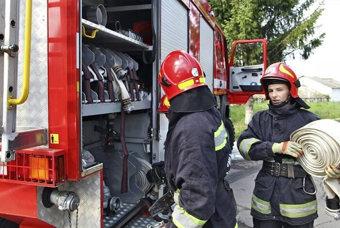 У військовій частині 3028 нацгвардійці разом з рятувальниками ліквідували умовну пожежу