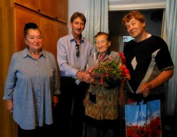 Жителька Тростянця відсвяткувала 95-річчя