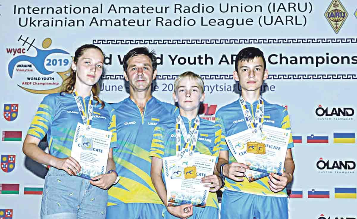 Вінницькі радіоспортсмени перемогли у світовій першості!