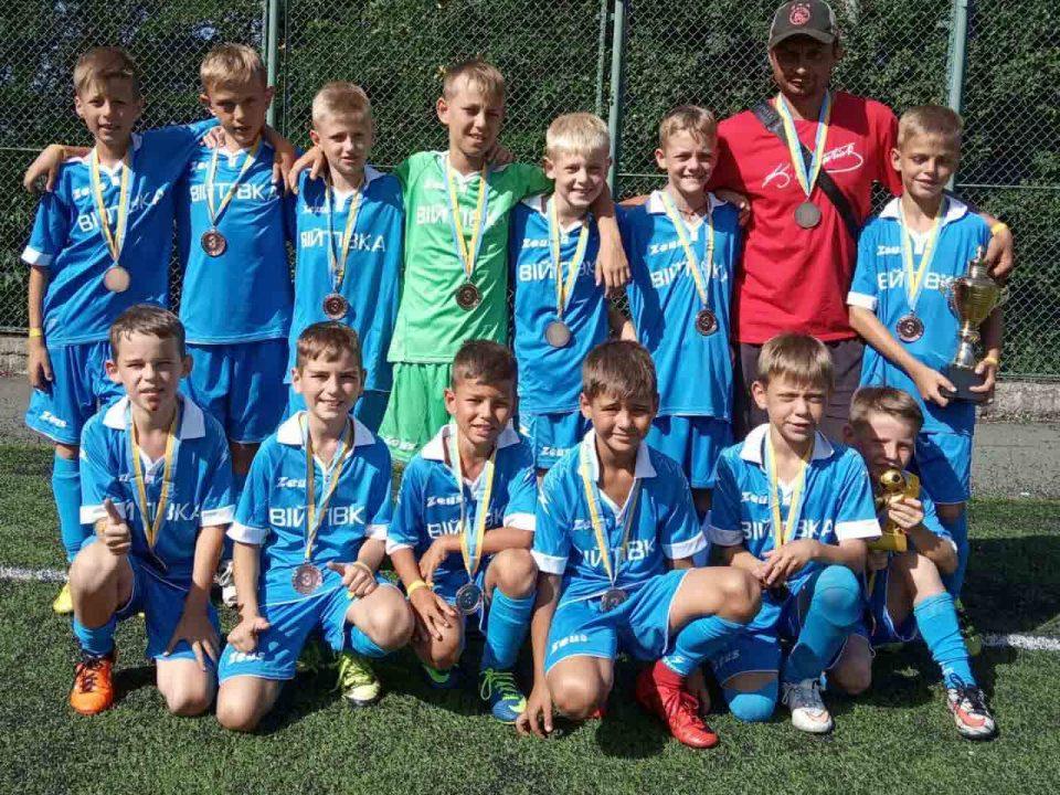 Бершадські футболісти виграли «бронзу» в міжнародних змаганнях
