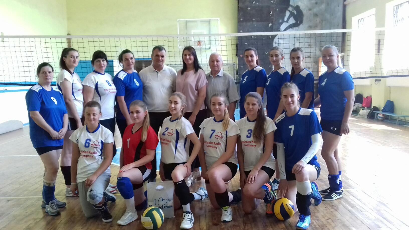 Команда Вінницького району перемогла на змаганнях з волейболу