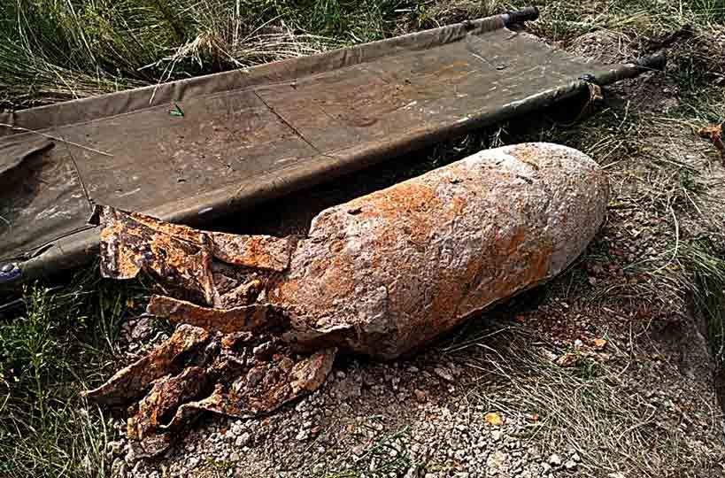 50-кілограмову авіабомбу знайшли на Літинщині