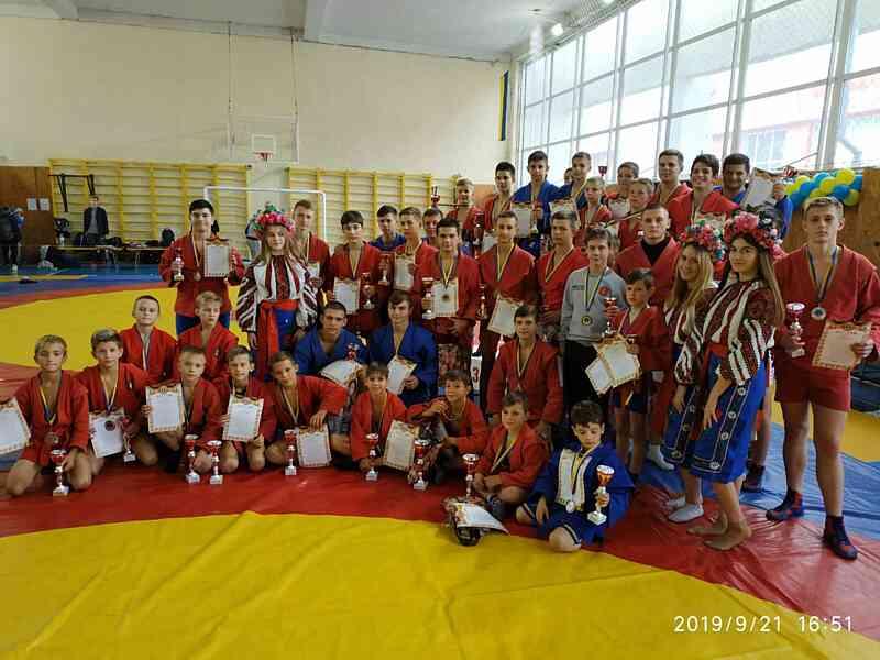 Відбувся всеукраїнський турнір боротьби з самбо