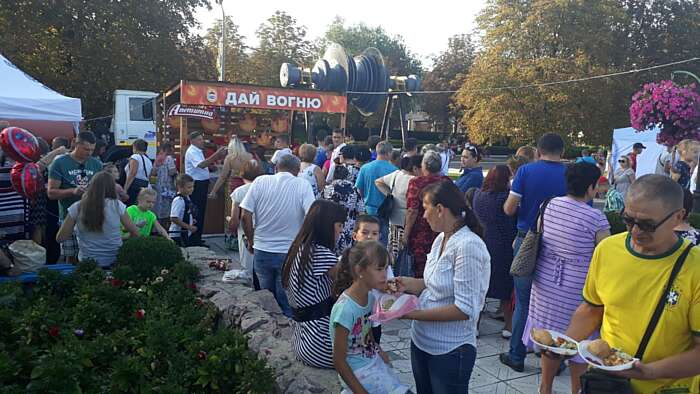 День міста Ладижин та День незалежності України святкували разом з «Аппетитною»