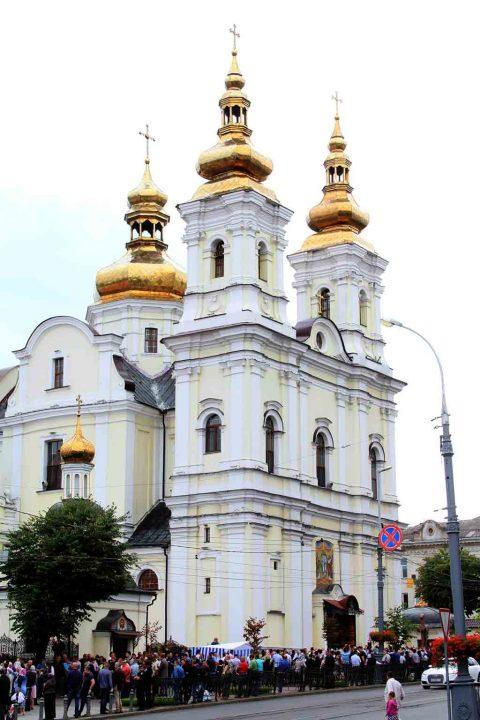 До примирення і мудрості закликають парафіяни Спасо-Преображенського кафедрального собору ПЦУ прихильників Московського патріархату