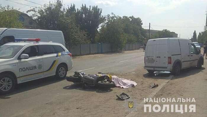 Мотоцикліст загинув у ДТП у Бершаді