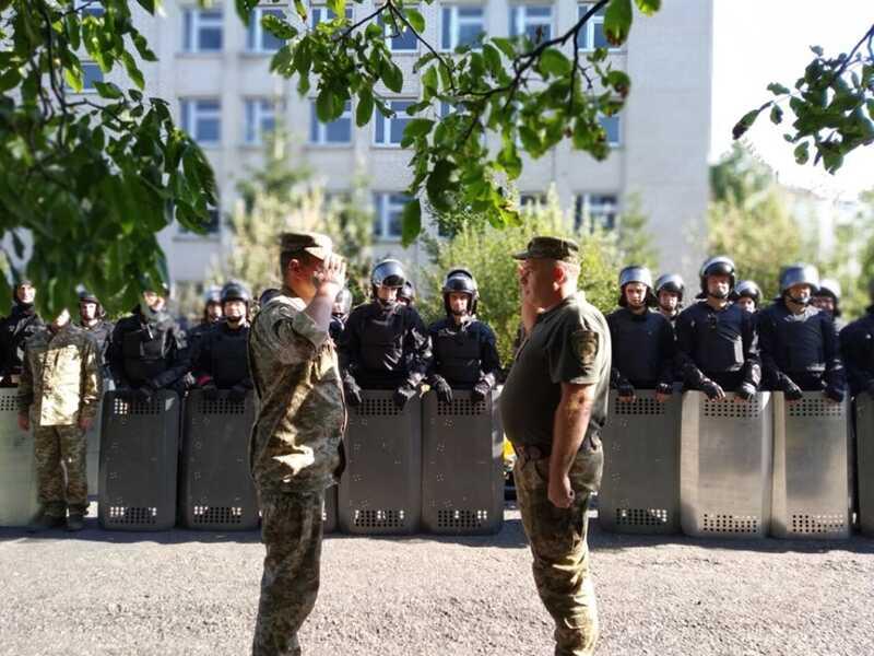 Бійці груп швидкого реагування виправних колоній змагались у Піщанському районі
