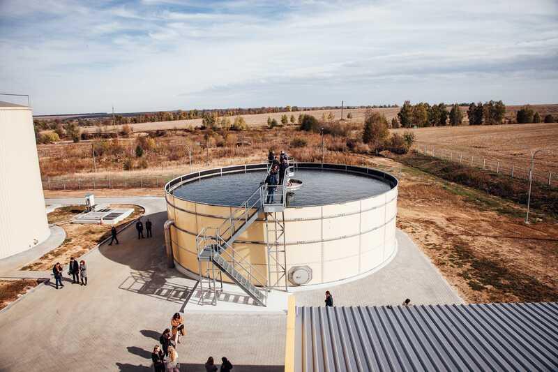 """2 млн літрів стічних вод щодня очищає завод """"Люстдорф"""" у Іллінцях"""