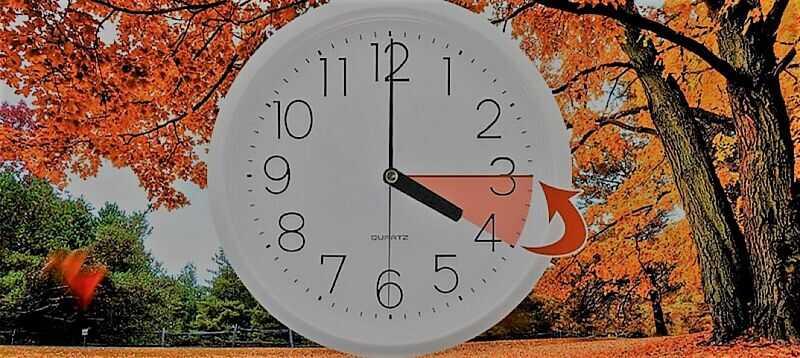 У неділю 27 жовтня годинники треба перевести на годину назад