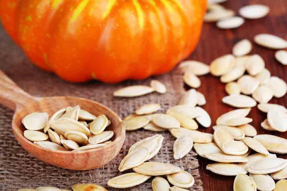 Від тиску – насіння гарбуза