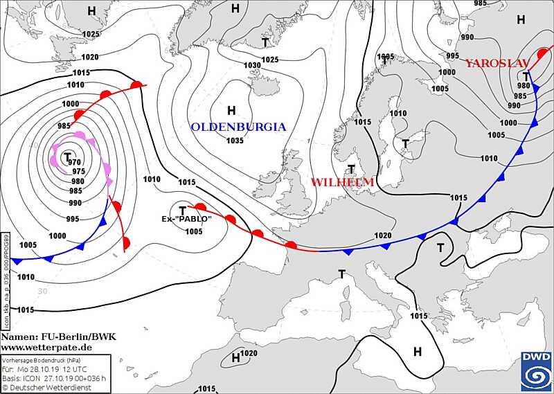 Антициклон Oldenburgia несе холод: в Україні різко зміниться погода