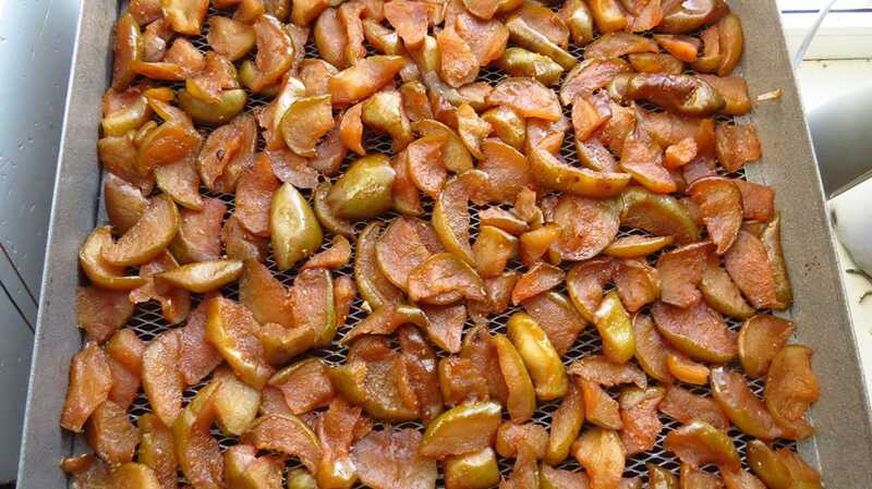 Цукати з гарбуза та груш замінили солодощі на столі