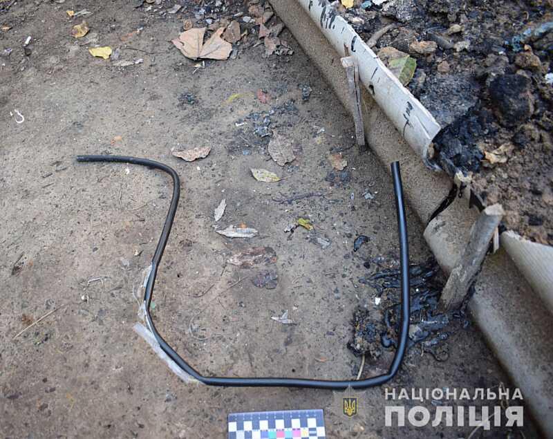 Крадія кабелю затримали на Вінниччині