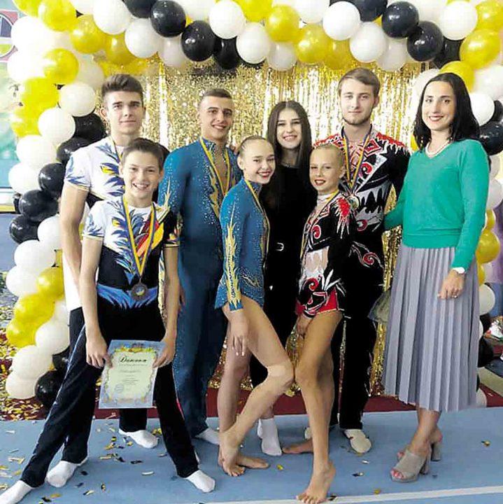 На чемпіонат Європи до Ізраїлю поїдуть вінницькі акробати