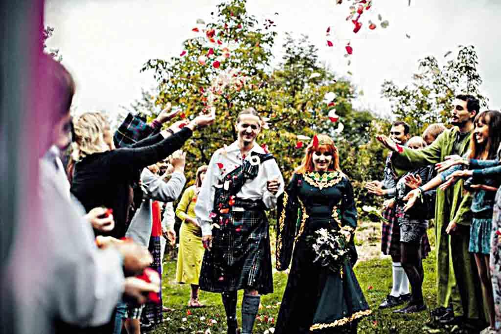 Кельтське весілля в Буші зіграли німці