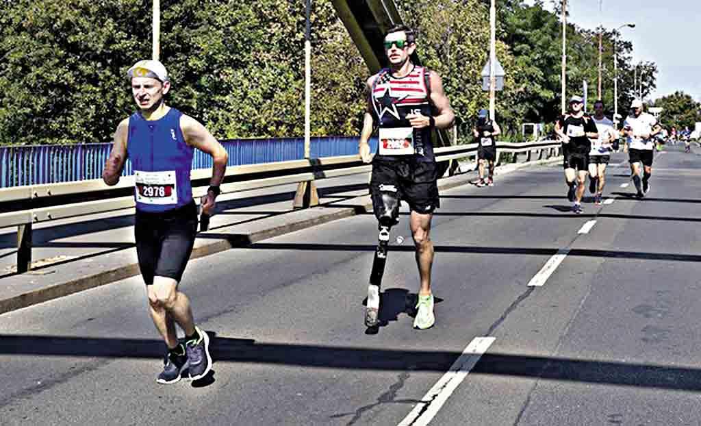 42 км у польському марафоні здолав юрист із Вінниччини