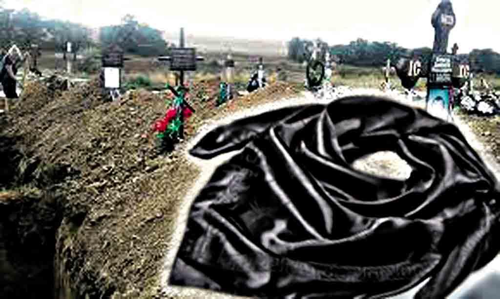 Скандал через чорну хустку, яку кинули в могилу бабусі. «Поробили на магію», – вважають родичі небіжчиці