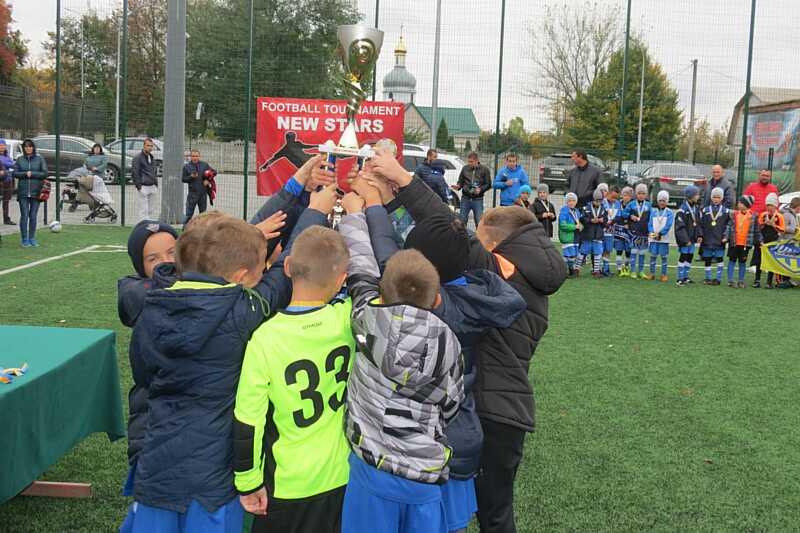 Вінницькі переможці Всеукраїнського турніру «New Stars» зіграють проти «Боруссії» і «МанСіті»