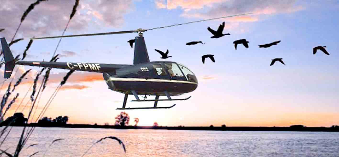 НП із стріляючим у заповіднику вертольотом вінницькі екологи змусили поліцію розслідувати аж через суд