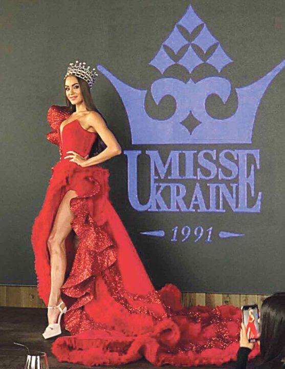 Вінницька дизайнерка створила ефектну сукню для конкурсу «Міс світу-2019»