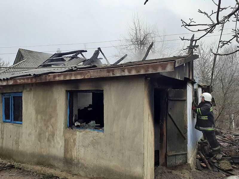 Пенсіонерка згоріла у Шаргородському районі