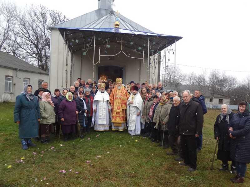 Грамоту від Предстоятеля Єпіфанія отримала релігійна громада ПЦУ с. Михайловець