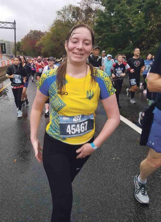 Жінка з Вінниці взяла участь у міжнародному марафоні морської піхоти у США