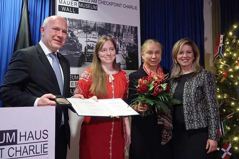 Вінничанка, яка втратила ногу на війні, отримала престижну нагороду в Берліні