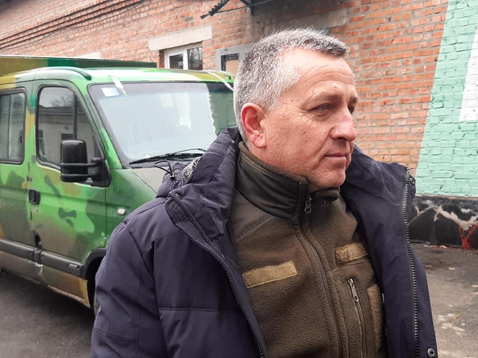 Опель для 9-го БАТу відремонтували і завантажили смаколиками у Вінниці (відео)