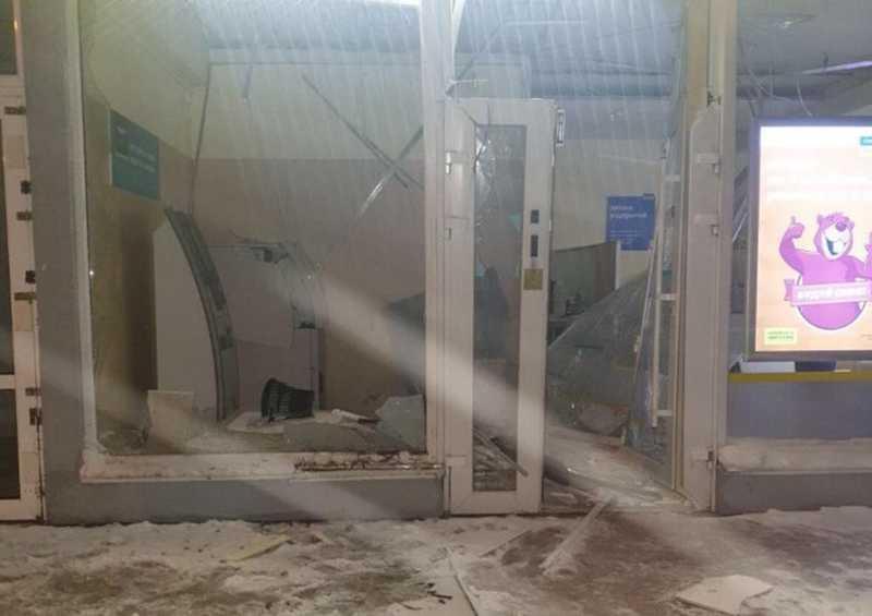 У Вінниці підірвали банкомат Ощадбанку