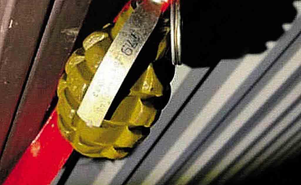 Гранату на воротах будинку знайшли у Вінниці на свято