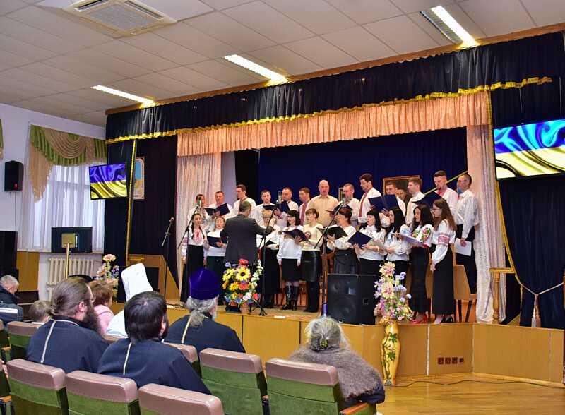Концерт духовної музики влаштувала для воїнів єпархія ПЦУ (відео)