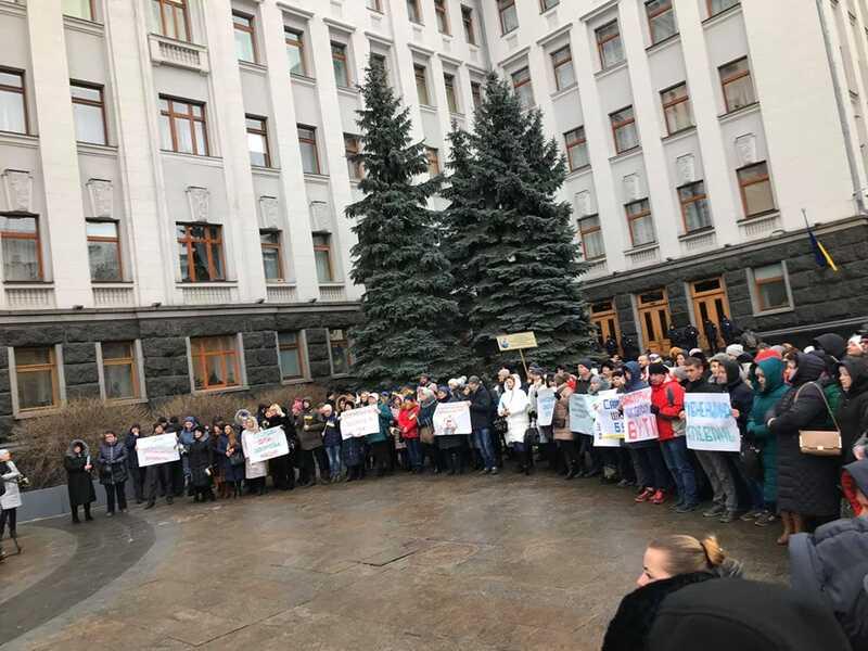 Викладачі Мурованокуриловецкої школи-інтернат приїхали до Офісу Президента