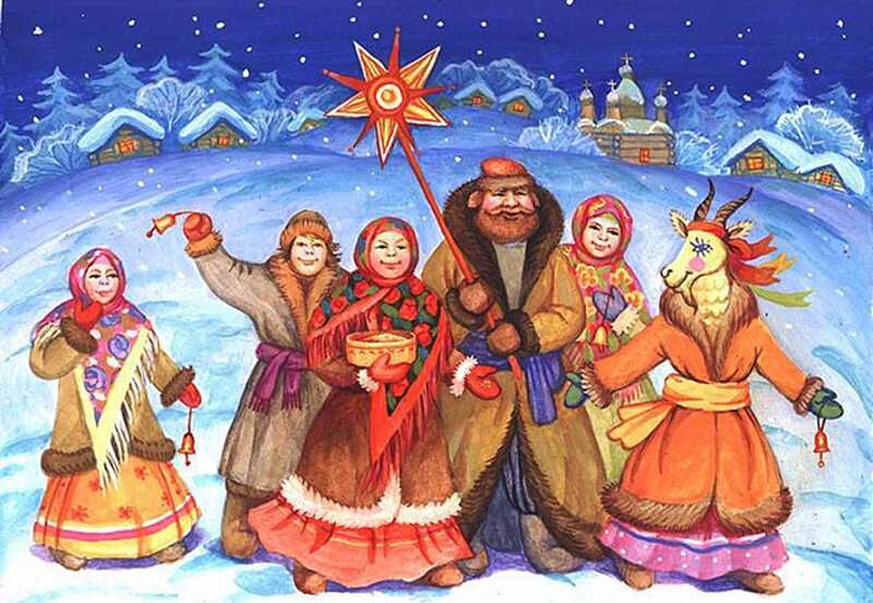 Українці святкують Щедрий вечір та Старий Новий рік