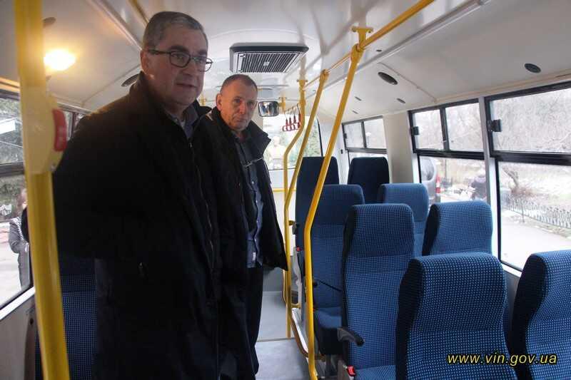 Спецавтобус ― для підопічних обласного пансіонату престарілих