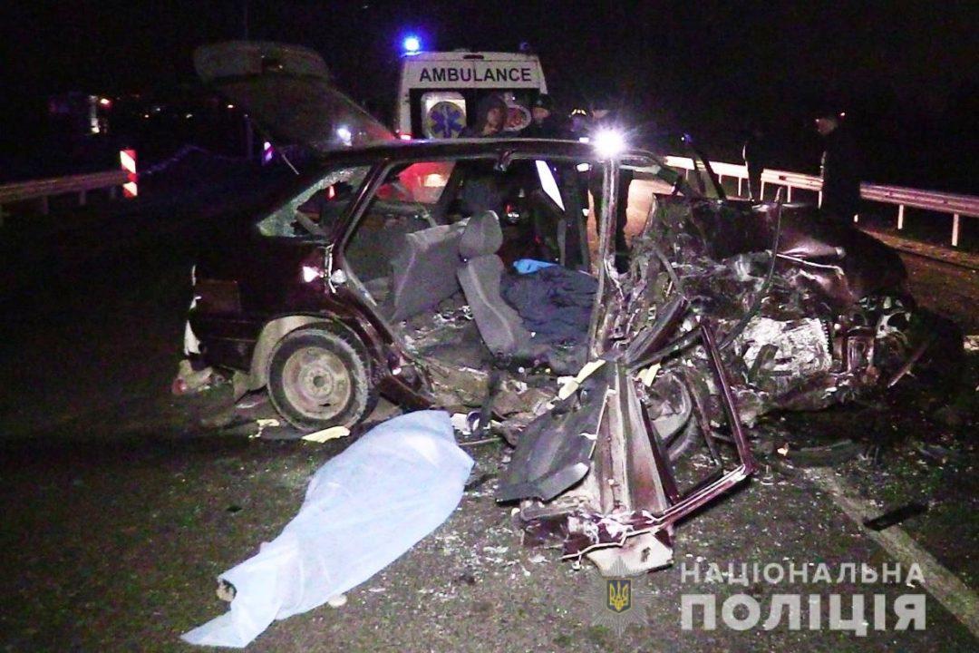 На вінницькій «об'їзній» сталась аварія. Загинула жінка, двоє у лікарні