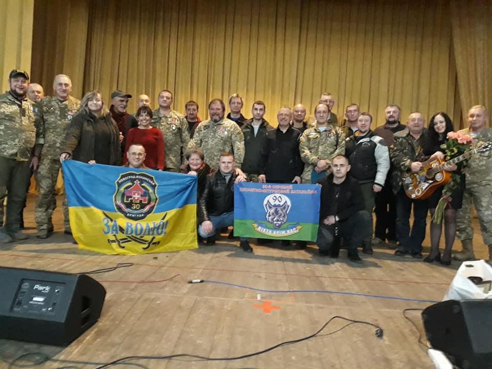 Концерт-реквієм пам'яті кіборгів та 244 дні оборони ДАПу зібрав у Вінниці повний зал (відео)