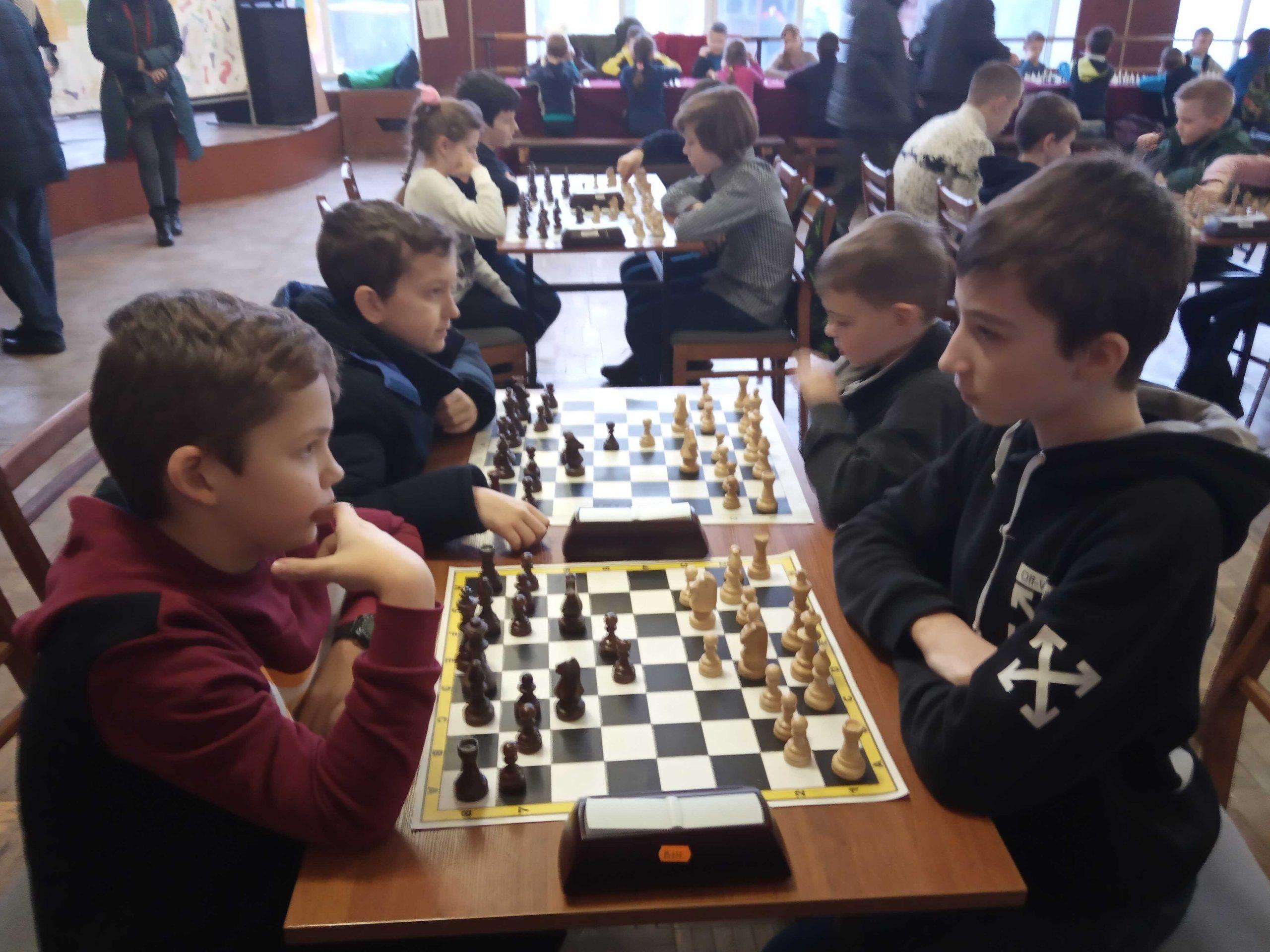 «Зимовий дебют» вінницькі шахісти зіграли в Жмеринці