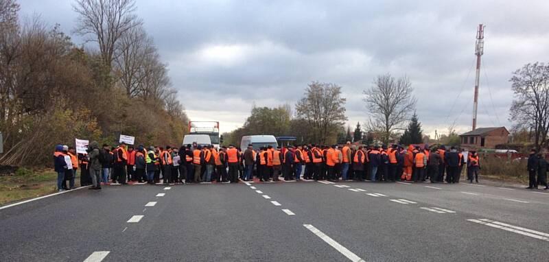 Трасу М12 у Писарівці під Вінницею заблокують в четвер із 10-ї години на знак протесту мешканці Гавришівської та Сокиринецької ОТГ