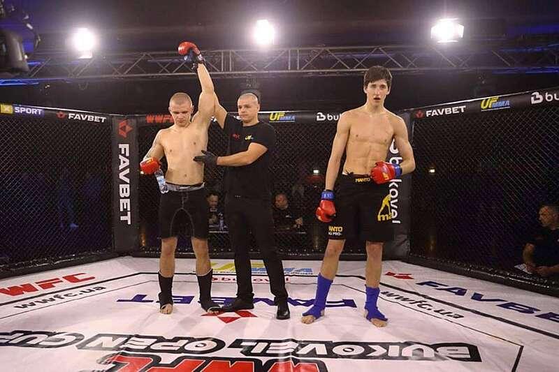 Вінничанин переміг у міжнародному турнірі зі змішаних бойових мистецтв