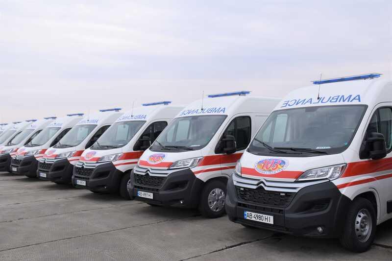 Вінницька станція екстреної медичної допомоги повністю оновить свій транспортний парк (відео)